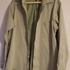 Izod Men's Long Sleeve Shirt - Xlarge - sz 17.5